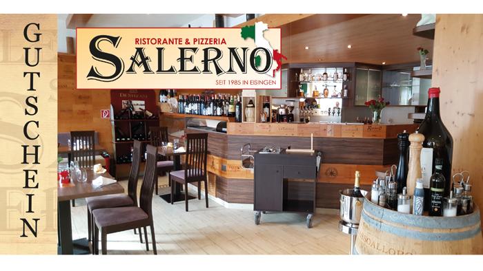 Gutschein vom Ristorante & Pizzeria SALERNO