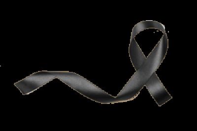 black-ribbon-isolated-on-white-background